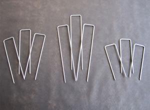 Weed Mat Pins / Irrigation Pins / Tent Pins