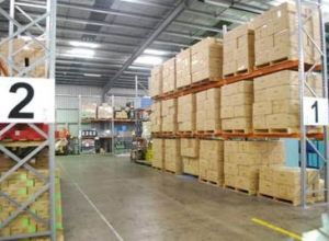 Extensive Warehousing Facility